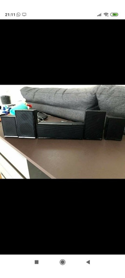 Home Theater + Dvd Player Samsung 5.1 Ht-e550k/zd 110v/220v