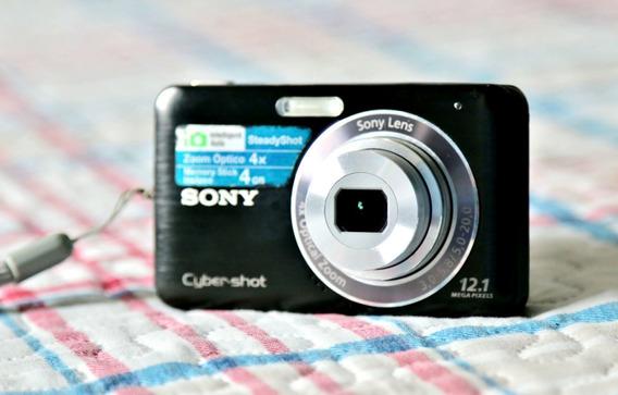 Câmera Digital Sony Cyber-shot Dsc-w310 12.1mp, Zoom 4x, 4gb