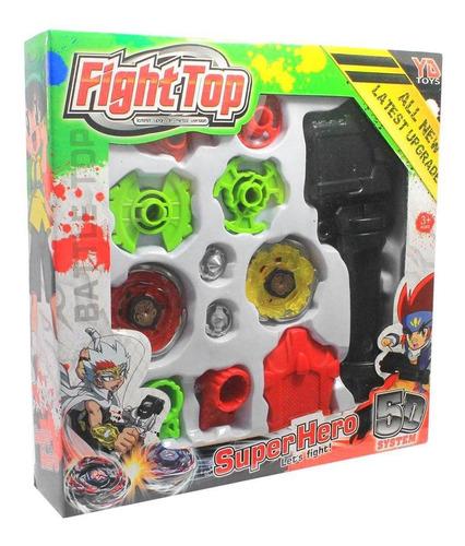 Brinquedo Infantil Beyblade Metal Com Sistema 5d Fight Top