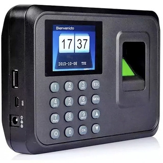 Reloj Control De Asistencia Lector Biométrico Huella Digital