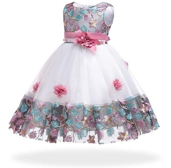Vestido Niña Elegante, Bodas Eventos, Envio Gratis