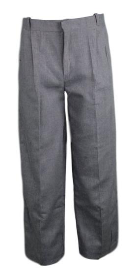 Pantalón Escolar Polilana Gris Obscuro Oxford 28 A 42
