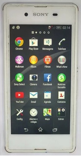 Sony Xperia E3 D2243 4gb Branco Original Semi Novo