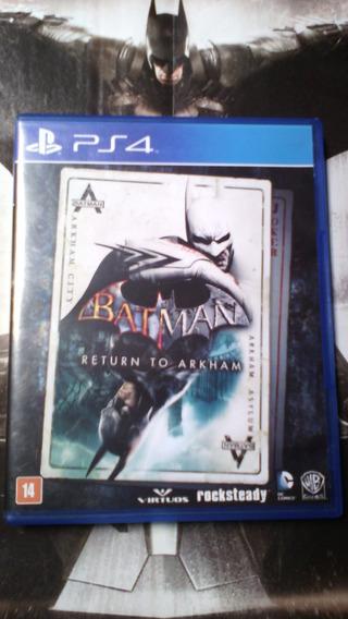 Jogo Batman Return To Arkham Seminovo