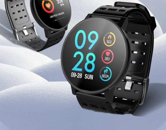 Relógio-inteligente Andróid-iPhone Pressão Arterial-promoção