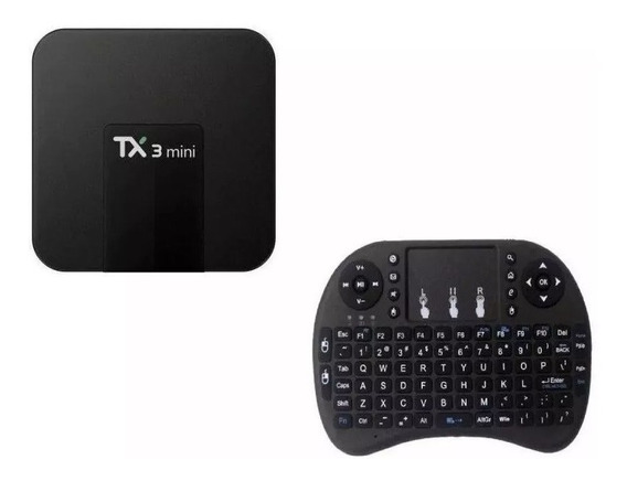 Conversor Tv Box Tx3 Mini Streaming Media Player Teclado Led