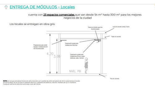 Imagen 1 de 11 de Local Comercial Nuevo En Renta Ubicado En Zona Céntrica De Cancún. Mod. L-102