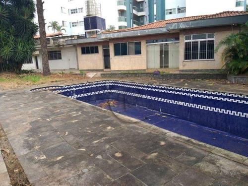 Imagem 1 de 9 de Casa Com 3 Dormitórios Para Alugar, 737 M² Por R$ 11.900,00/mês - Vila Caminho Do Mar - São Bernardo Do Campo/sp - Ca3141