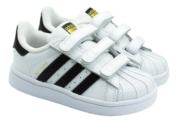 Tênis Infantil adidas Superstar Foundation (19 Ao 25)