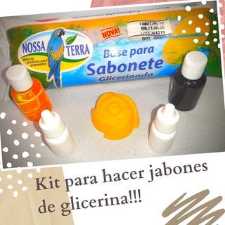 Kit Para Hacer Jabónes!!