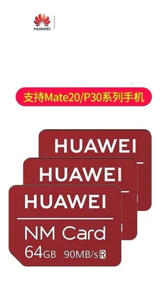 Cartao Memória Nanosd 64gb Original Da Huawei P30 Pro Mate20