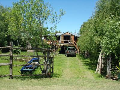 Cabaña Frente Arroyo Brazo Largo