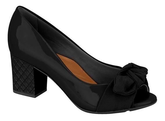 Moleca 5708.101 Sapato Feminino Pipitue Confort Salto Grosso