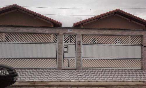 Imagem 1 de 12 de Casa, 1 Dorms Com 36 M² - Vila Mirim - Praia Grande - Ref.: Pr1863 - Pr1863