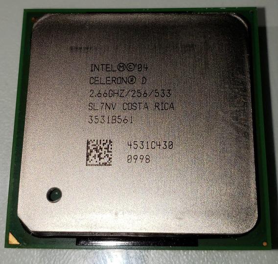 Processador Intel Celeron D 2,66 Ghz / 256kb /533 Socket 478