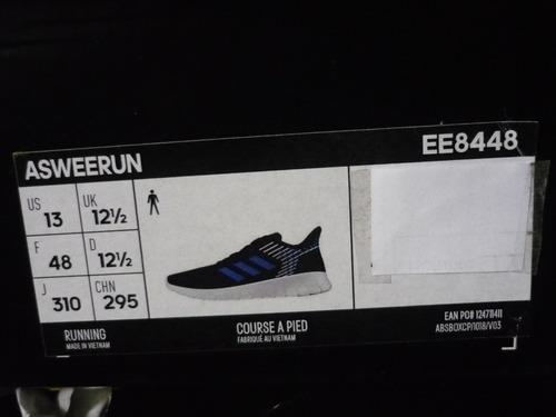 Permiso Respecto a A gran escala  Zapatilla adidas Asweerun Talla 48 (usa13) Ee8448 Hombre | Mercado Libre