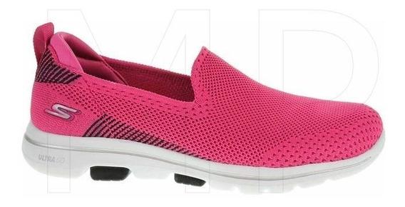 Tênis Feminino Go Walk Ref. 15900 Pkbk Skechers