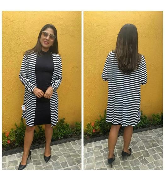 Conjunto Blogueira Vestido + Kimono Fotos Reais Veste 36/42