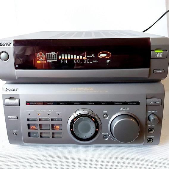 Micro System Sony Fh W55av Sem Caixa Sem Controle Sem Cabos