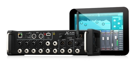 Mesa Digital Behringer Xr12 X-air 12 Entradas Mixer Wifi + N