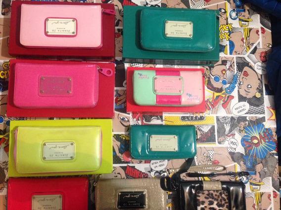 Billetera Juanita Jo Modelo De Color Rosa Naranja Ver7