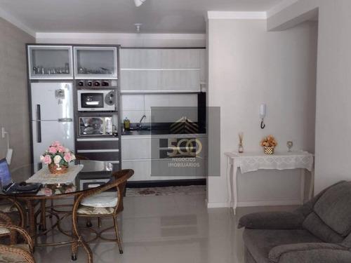 Apartamento Com 2 Dormitórios À Venda, 95 M² Por R$ 585.000,00 - Palmas - Governador Celso Ramos/sc - Ap2026