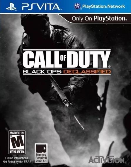 Call Of Duty Black Ops - Ps Vita - Original Zero