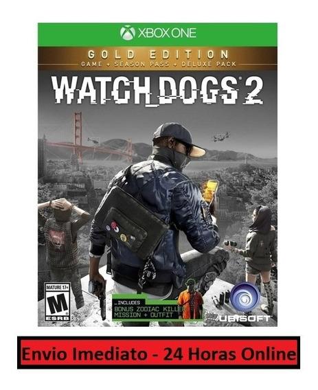 Watch Dogs 2 Jogo + Todo Conteúdo Extra Xbox One Digital