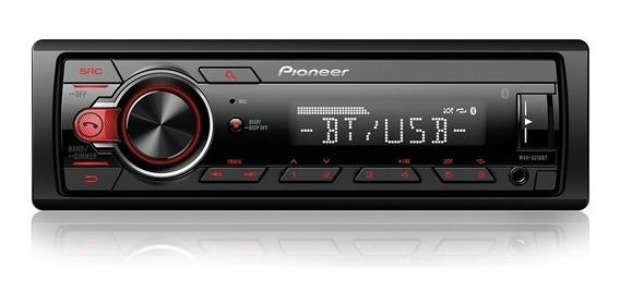 Som De Carro Pioneer C/ Bluetooth Entrada Auxiliar Promoção