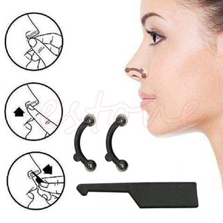 Nariz Perfecta Corrector Nasal Transparente/negro 4 Unidades