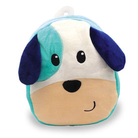 Mochila De Pelúcia Infantil Cachorrinho Liro Unik Toys