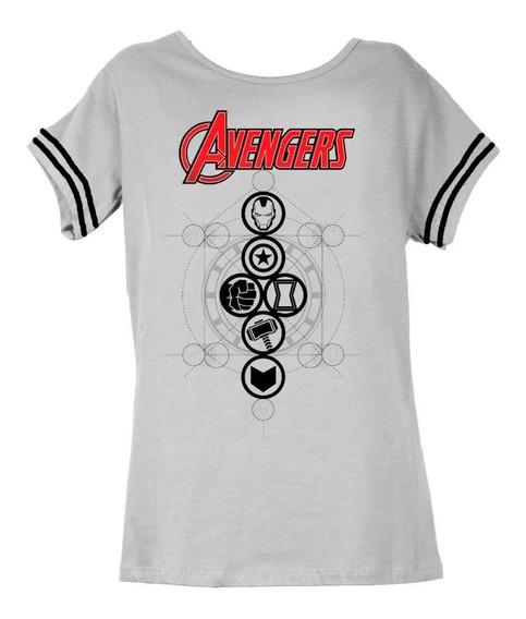 Remera, Marvel, Avengers Dama Accoriginals