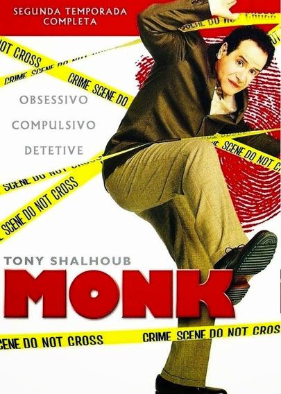 Coleção Box Dvd Monk Todas Temporadas Completo