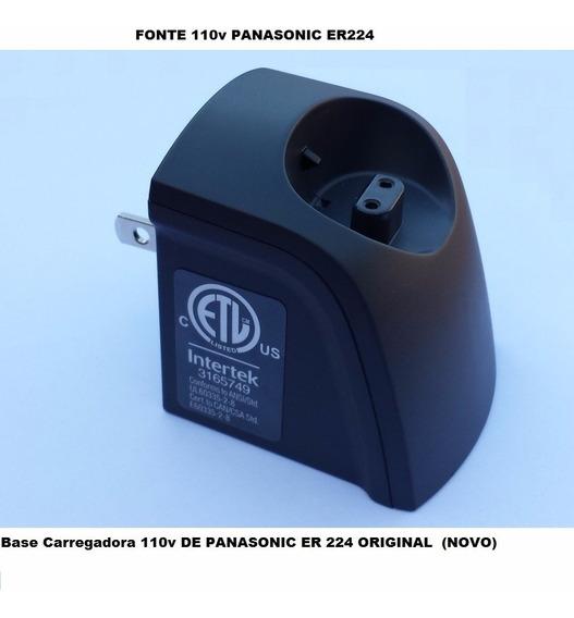 Carregador Base Fonte Panasonic Er224 S Original 110v Oferta