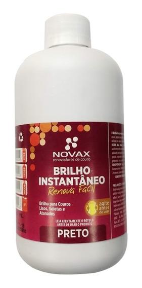 Graxa Em Liquido Para Cuturnos Preto Instantâneo Novax 450ml