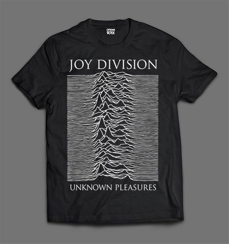Camiseta Joy Division Unknown Pleasures  Foto Pz01j