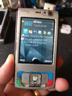 Lote 4 Celulares Nokia N95 (defeito)2 1/19