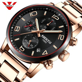Relógio Pulso - Nibosi Luxo - 43mm - Hardlex