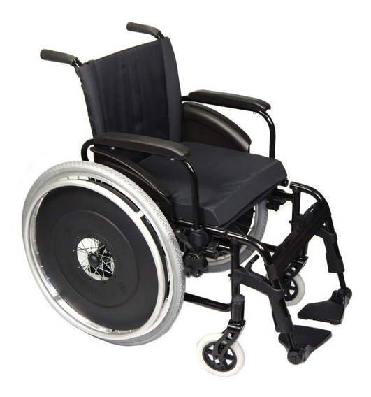 Cadeira Rodas Avd Alumínio Assento 38 Ao 50cm Ortobras