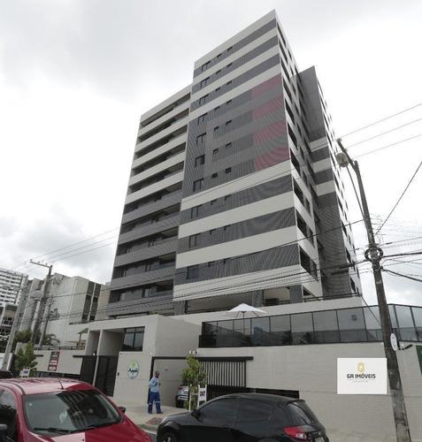 Imagem 1 de 7 de Apartamento À Venda, 3 Quartos, 1 Suíte, 1 Vaga, Gruta De Lourdes - Maceió/al - 654