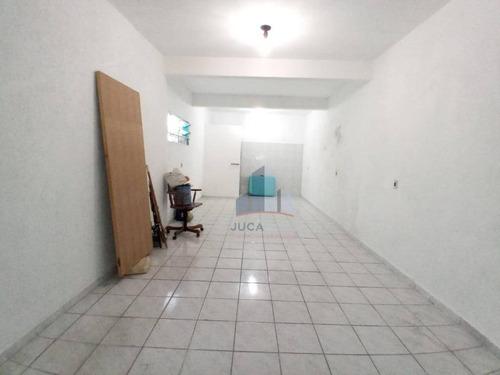Salão Para Alugar, 40 M² Por R$ 1.000/mês - Parque Das Américas - Mauá/sp - Sl0127