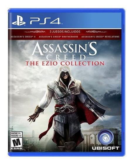 Assassins Creed Ezio Collection Ps4 Psn 1 Jogue Hoje!