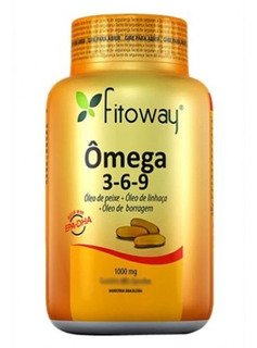 Omega 3 6 9 Fitoway 120 Capsulas Melhor Custo Benefício