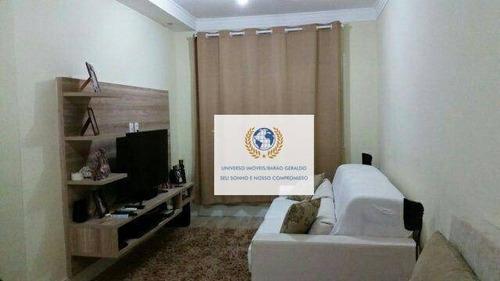 Imagem 1 de 8 de Apartamento Com 2 Dormitórios À Venda, 67 M² Por R$ 255.000,00 - Jardim Chapadão - Campinas/sp - Ap0773
