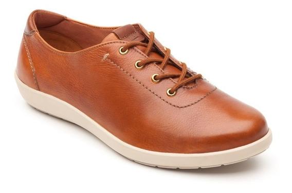 Zapato Tenis Flexi Amelie Casual 101901 Tan Dama