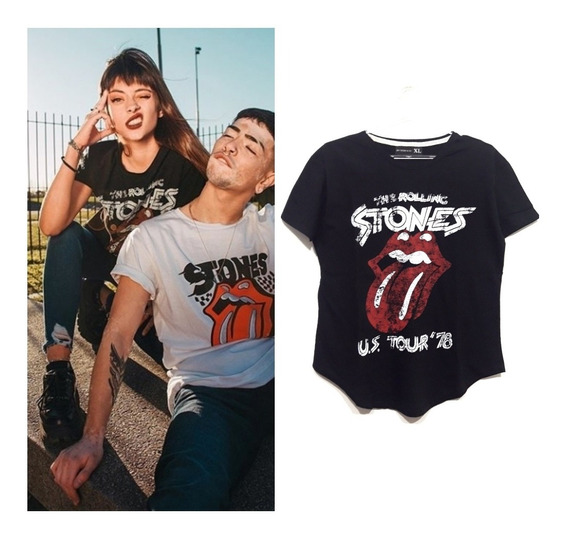 Remera Rolling Stones Mujer Xl