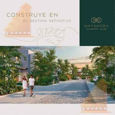 Mayakoba Country Club Nuevo Desarrollo Residencial Con Dinseños Unicos Y Exclusivos Riviera Maya Lotes Desde 300m2