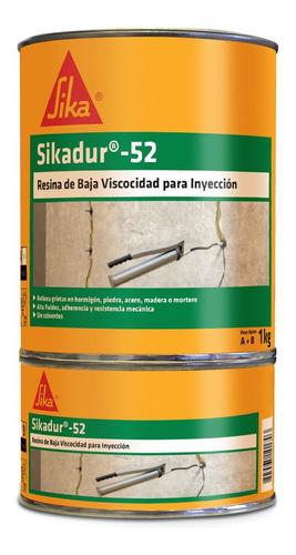Imagen 1 de 6 de Sikadur 52 Resina Fluida Para Inyección Juego 1 Kg