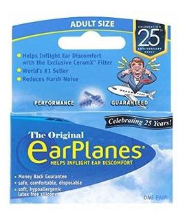 Conair Earplanes - Protección Para Oídos De Vuelo Adultos