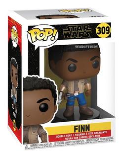 Funko Pop Finn 309 Star Wars Episodio Ix Original Scarlet